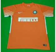 Inter Milan Goalkeeper Soccer Jersey 2017/18 Orange