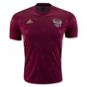 Russia Home Soccer Jersey 2016 Euro