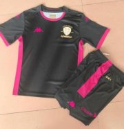 Children Leeds United Away Black Soccer Suits 2019/20 Shirt and Shorts