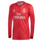 Real Madrid Long Sleeve 3rd Soccer Jersey Shirt 18-19
