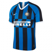 Player Version 19-20 Inter Milan Home Navy&Black Soccer Jerseys Shirt