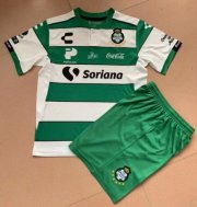 Children Santos Laguna Home Soccer Suits 2019/20 Shirt and Shorts