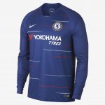Chelsea Home Soccer Jersey 2018/19 LS