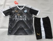 Kids Leicester City Away Soccer Kit 2015-16(Shirt+Shorts)