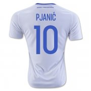 Bosnia and Herzegovina Away Soccer Jersey 2016 PJANIC #10