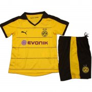 Kids Dortmund Home Soccer Kit 2015-16(Shirt+Shorts)