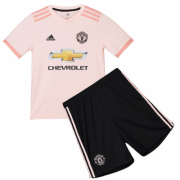 Kids 18-19 Manchester Untied Away Jersey Kits