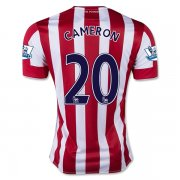 Stoke City Home Soccer Jersey 2015-16 CAMERON #20