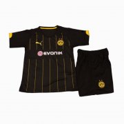 Kids Dortmund Away Soccer Kit 2015-16(Shirt+Shorts)