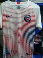Chile Away Soccer Jersey 2018-19