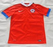 Chile Home Soccer Jersey 2015-16