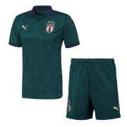 Italy Third Away Green Soccer Jerseys Kit(Shirt+Short) 19/20