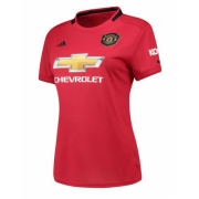 Womens 19-20 Manchester United Home Soccer Jersey Shirt