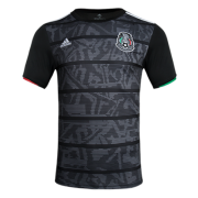 Mexico Gold Cup Home Black Soccer Jerseys Shirt 2019