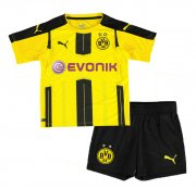 Kids Dortmund Home Soccer Kit 2016/17 (Shirt+Shorts)