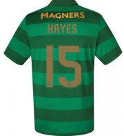 Celtic Away Soccer Jersey 2017/18 Hayes #15