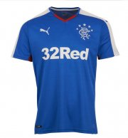 Rangers Glasgow Home Soccer Jersey 2015-16