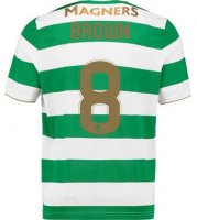 Celtic Home Soccer Jersey 2017/18 Brown #8