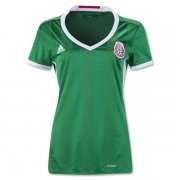 Mexico Home Soccer Jersey 2016 Women's