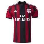 AC Milan 2014/15 Home Soccer Jersey(Shirt+Shorts+Socks)
