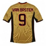 13-14 AC Milan #9 Van Basten Away Golden Jersey Shirt