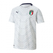Italy Away White Soccer Jerseys Shirt 2020