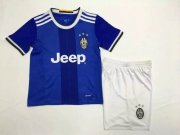 Kids Juventus Away Soccer Kit 16/17 (Shirt+Shorts)