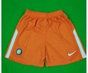 Inter Milan Goalkeeper Soccer Shorts 2017/18 Orange