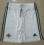 Northern Ireland Home White Soccer Shorts 2020