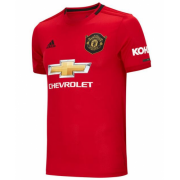 Manchester United Home Soccer Jersey Shirt 19-20