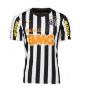 12-13 Santos FC Away Black&White Jersey Shirt