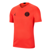 Player Version 19/20 PSG Orange&Red Training Jerseys Shirt