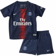 Kids 18-19 PSG Home Jersey Kits