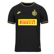 19/20 Inter Milan Third Away Black Soccer Jerseys Shirt