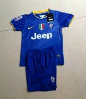 Kids Juventus 14/15 away soccer kit(shirt+shorts)