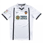 00/01 Valencia Home White Retro Jerseys Shirt