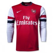 12-13 Arsenal Home Long Sleeve Jersey Kit (Shirt+Short)
