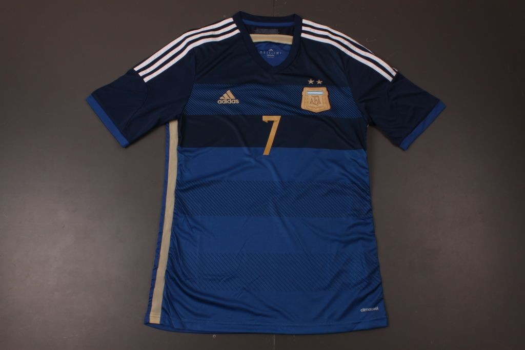 0cb910524a2 Argentina 14 15 Away Soccer Shirt  7 DI MARIA
