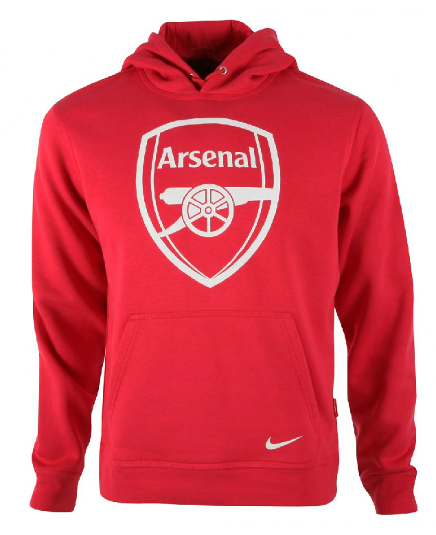 13-14 Arsenal Red Hoody Sweater