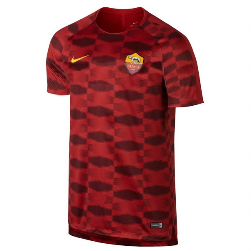 Roma Pre-Match Training Shirt 2017/18 Red