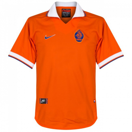 Netherlands Home Retro Soccer Jersey 1997/98
