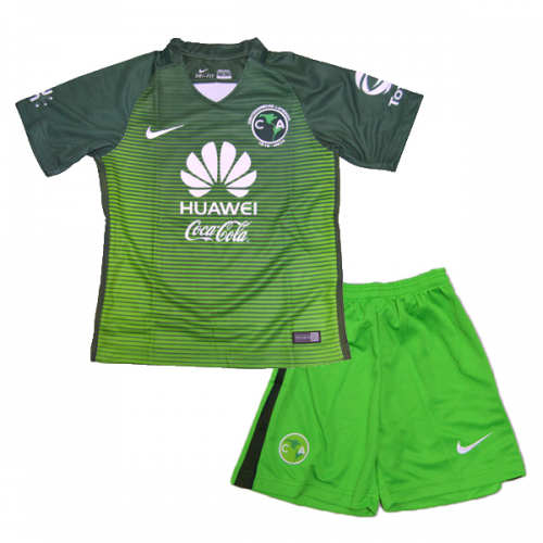 Club America Third Soccer Suits 2017/18 shirt and shorts Kids