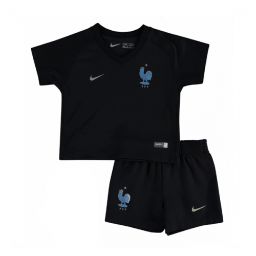 France Third Soccer Jersey 2017 shirt and Shorts Kids