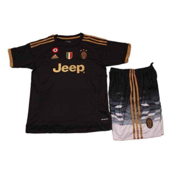 online retailer 68bd9 497e9 Kids Juventus Third Soccer Kit 2015-16(Shirt+Shorts) | Juventus