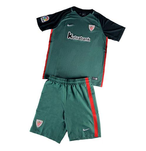 huge selection of 6dff4 f73a7 Kids Athletic Bilbao Away Soccer Kit 16/17 (Shirt+Shorts ...