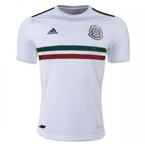 Mexico Away Soccer Jersey 2017/18 White
