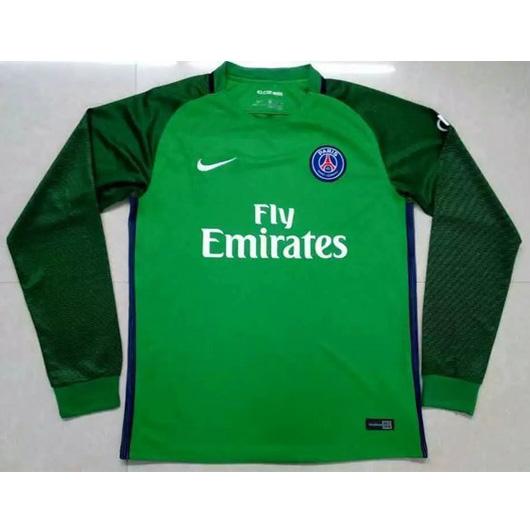 best service d0ce0 75e1e PSG Goalkeeper Soccer Jersey 16/17 LS Green | Paris St Germain