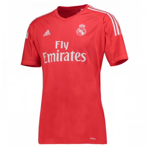 Real Madrid Goalkeeper Soccer Jersey 2017/18 Red