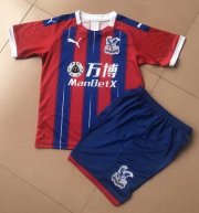 Children Crystal Palace Home Soccer Suits 2019/20 Shirt and Shorts