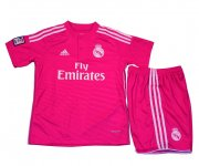 Kids Real Madrid 14/15 Away Soccer Jersey Kit(Shirt+shorts)
